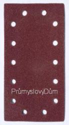 Brusný list 115x230mm zrn.100 suchý zip 14 dìr